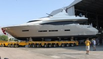 The stunning Peri 29 superyacht OZONE launched from Peri Yachts